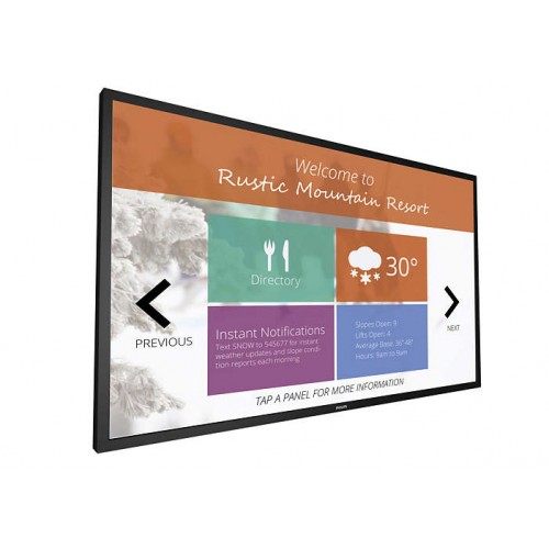 Monitor profesional touchscreen Philips T-Line 55BDL4051T