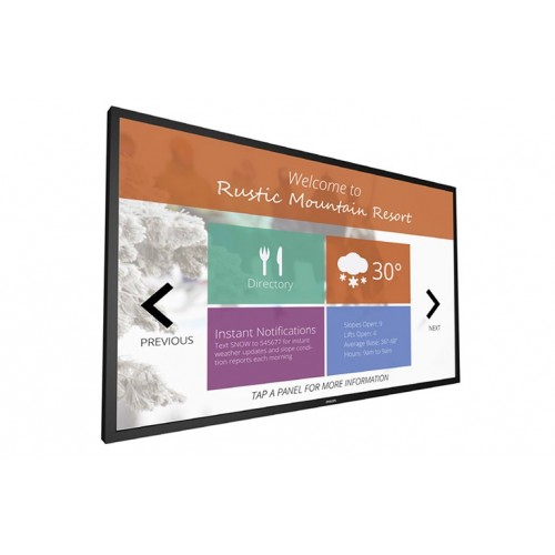 Monitor profesional touchscreen Philips T-Line 65BDL3051T