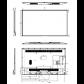 Monitor profesional Vestel ST Series ST55U01